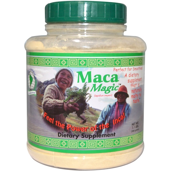 Maca Magic, Lepidium Meyenii, 1.1 lbs (500 g) (Discontinued Item)