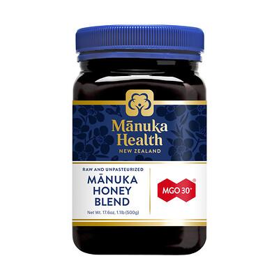 Купить Manuka Health Manuka Honey Blend, MGO 30+, 1.1 lb (500 g)