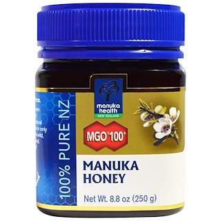 Manuka Health, Manuka Honey, MGO 100+, 8.8 oz (250 g)