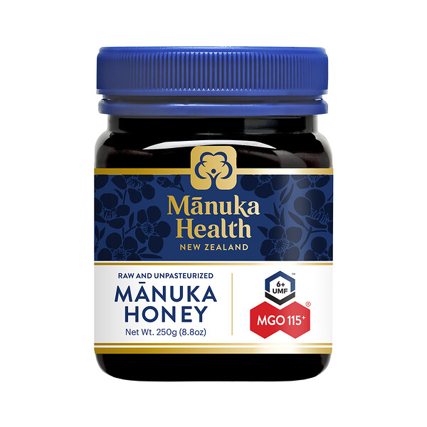 Manuka Health, Manuka Honey, MGO™ 115+, 250 g (8,8 oz)