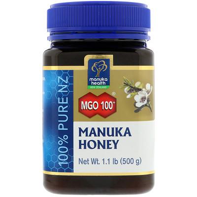 Manuka Health 麥盧卡蜂蜜,MGO 100+,1.1磅(500克)