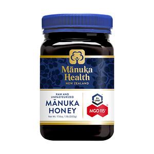 Манука Хэлс, Manuka Honey, MGO 115+, 1.1 lb (500 g) отзывы