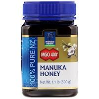 Мёд манука, 400+ МГО, 1,1 фунта (500 г) - фото