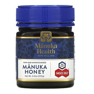 Manuka Health, Manuka Honey, MGO 263+, 8.8 oz (250 g)