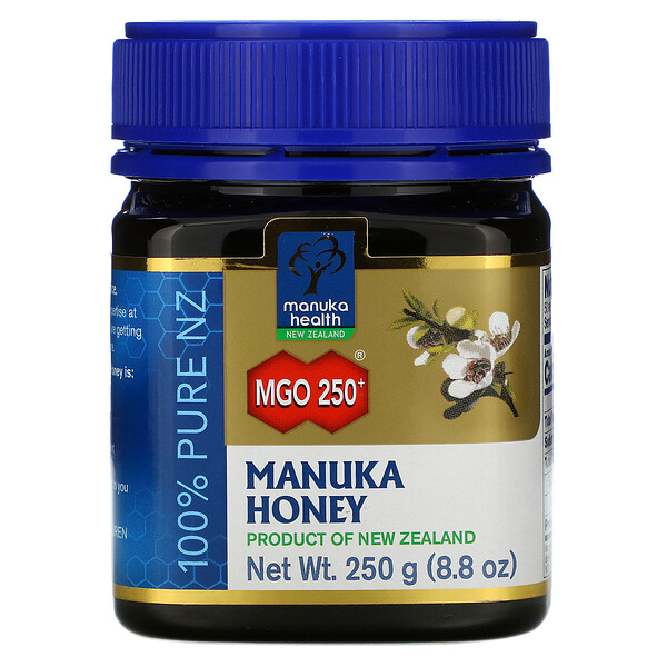 Manuka Health, Manuka Honey, MGO 250+, 8.8 oz (250 g)