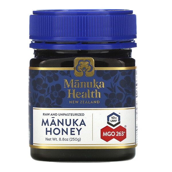 Manuka Honey, MGO 263+, 8.8 oz (250 g)