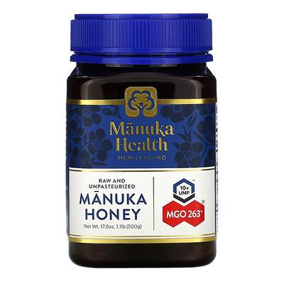 Купить Manuka Health Manuka Honey, MGO 263+, 1.1 lb (500 g)