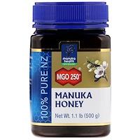 Лесной мёд манука, MGO 250+, 1,1 фунта (500 г) - фото