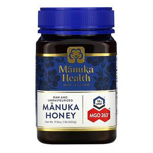 Манука Хэлс, Manuka Honey, MGO 263+, 1.1 lb (500 g) отзывы