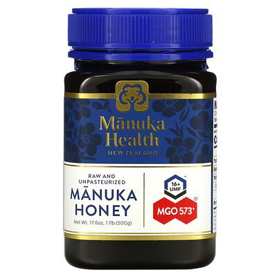 Купить Manuka Health Manuka Honey, MGO 573+, 17.6 oz ( 500 g)