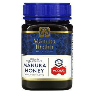 Manuka Health, Manuka Honey, Manuka-Honig, MGO 573+, 500g (17,6oz.)