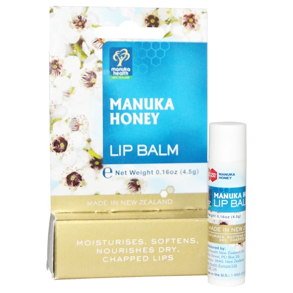 Manuka Health, Manuka Honey Lip Balm, 0.16 oz (4.5 g) (Discontinued Item)