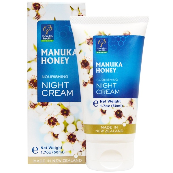 Manuka Health, Manuka Honey, Nourishing Night Cream, 1.7 oz (50 ml) (Discontinued Item)
