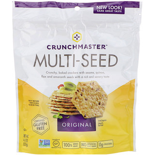 Crunchmaster, Multi-Seed Crackers, Original, 4.5 oz (127 g)