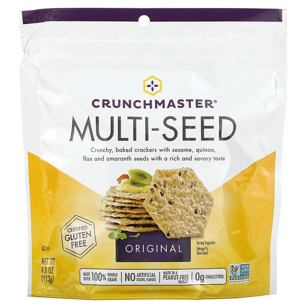 Multi-Seed Crackers, Original, 4 oz (113 g)