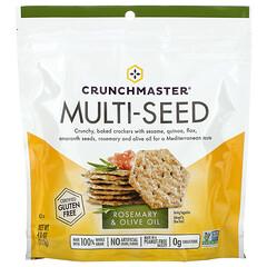 Crunchmaster, 多籽餅乾,迷迭香橄欖油味,4 盎司(113 克)