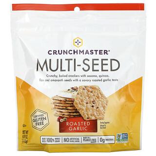 Crunchmaster, Multi-Seed Cracker, Roasted Garlic, 4 oz (113 g)