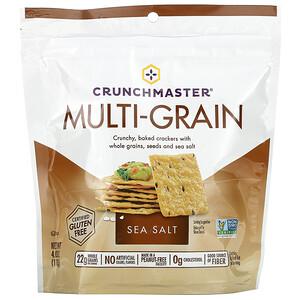 Crunchmaster, Multi-Grain Crackers, Sea Salt, 4 oz (113 g)