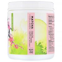 Matcha + Collagen, Grass-Fed Collagen Peptides, 7.9 oz (224 g) - фото