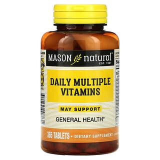 Mason Natural, Daily Multiple Vitamins, 365 Tablets