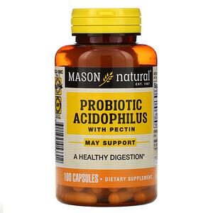 Масон Натуралс, Probiotic Acidophilus with Pectin, 100 Capsules отзывы