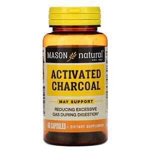 Масон Натуралс, Activated Charcoal, 60 Capsules отзывы покупателей