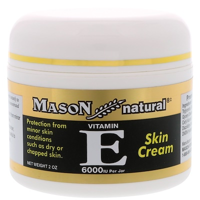 Vitamin E, Skin Cream, 6,000 IU, 2 oz