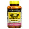 Mason Natural, Extra Strength Lecithin Kelp/B6 Plus Apple Cider Vinegar, 100 Tablets
