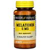 Mason Natural, Melatonina, 5 mg, 300 comprimidos