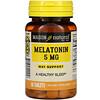 Mason Natural, メラトニン、5mg、60粒