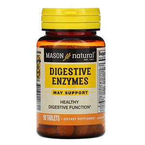 Масон Натуралс, Digestive Enzymes, 90 Tablets отзывы