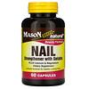 Mason Natural, Nail Strengthener with Gelatin, 60 Capsules