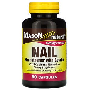 Масон Натуралс, Nail Strengthener with Gelatin, 60 Capsules отзывы покупателей