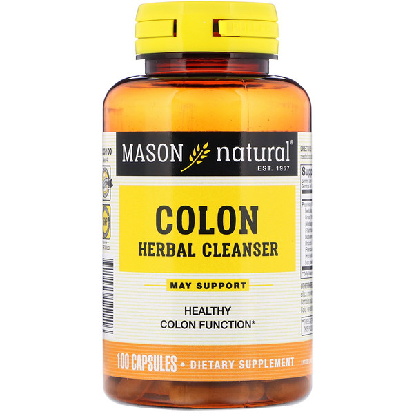 Colon Herbal Cleanser, 100 Capsules