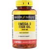 Рыбий жир с Омега-3, 1000 мг, 60 мягких таблеток
