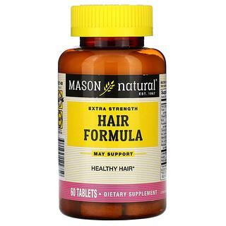 Mason Natural, Extra Strength Hair Formula, 60 Tablets