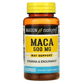 Mason Natural, Maca, 500 mg, 60 Capsules
