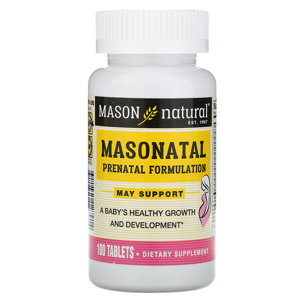 Masonatal Prenatal Formulation, 100 Tablets