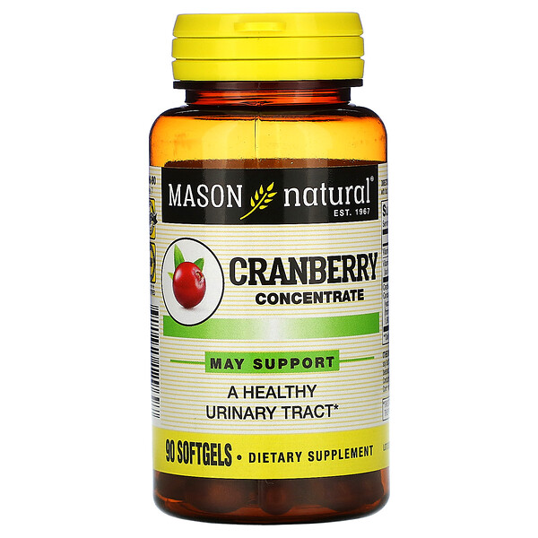Cranberry Concentrate, 90 Softgels