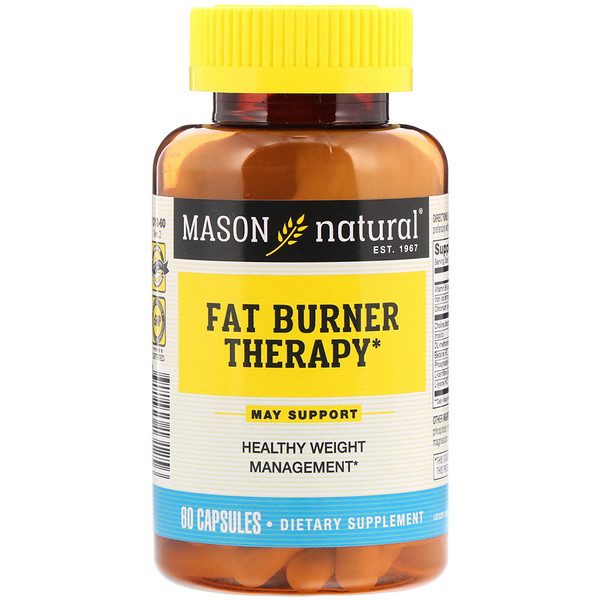 Mason Natural, Fat Burner Therapy, 60 Capsules