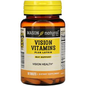 Масон Натуралс, Vision Vitamins Plus Lutein, 60 Tablets отзывы