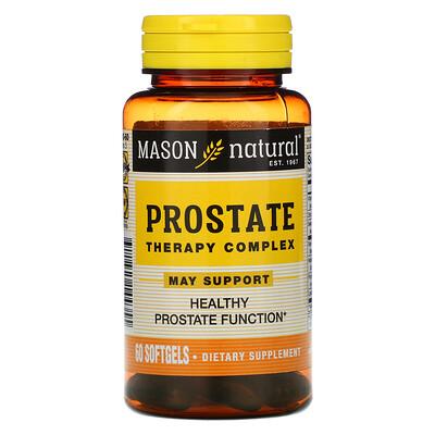 Купить Mason Natural Комплекс для лечения простаты, 60 мягких таблеток