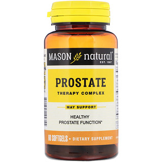 Mason Natural, Prostate Therapy Complex, 60 Softgels