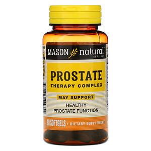 Масон Натуралс, Prostate Therapy Complex, 60 Softgels отзывы