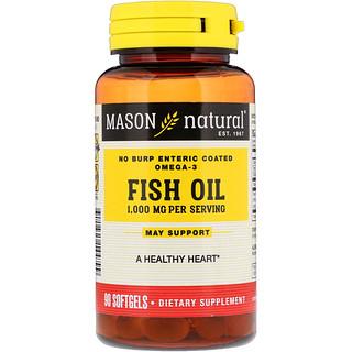 Mason Natural, Fish Oil, 1,000 mg, 90 Softgels