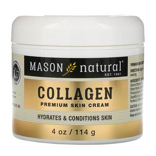 Mason Natural, 胶原蛋白高级护肤霜,梨味,4 盎司(114 克)