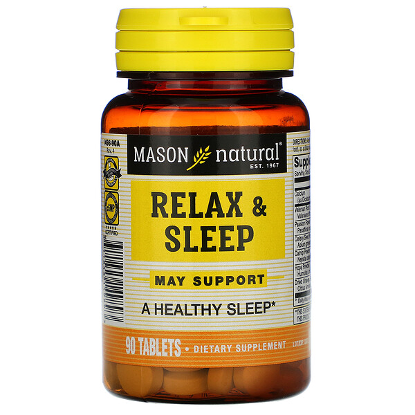 Relax & Sleep, 90 Tablets