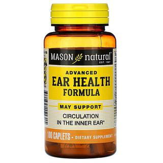 Mason Natural, Advanced Ear Health Formula, 100 Caplets