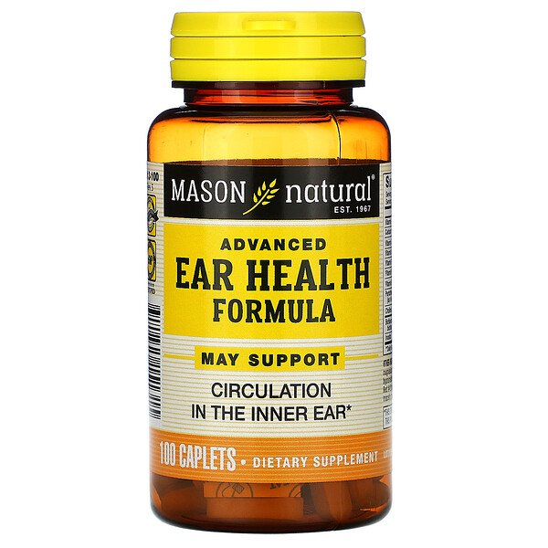 Advanced Ear Health Formula, 100 Caplets