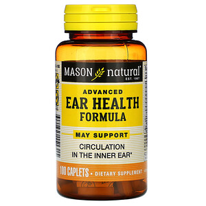 Масон Натуралс, Advanced Ear Health Formula, 100 Caplets отзывы покупателей